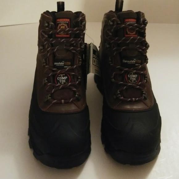 b44efb56d84 🆕[Skechers] Radford Work Boots (Size 9.5) NWT